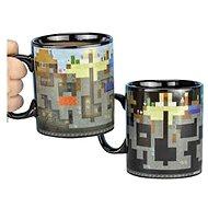 Tasse Minecraft - Levels - Verwandelbarer Becher