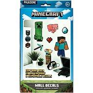 Sticker Minecraft - Wandaufkleber 19 Stück