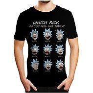 Rick and Morty - Emotions - T-Shirt XXL - T-Shirt