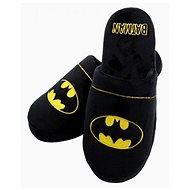 DC Comics - Batman - Hausschuhe Größe 42-45 schwarz - Pantoffeln