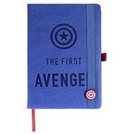 Marvel - The First Avenger - Notizbuch - Notizbuch