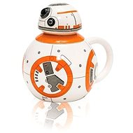 Star Wars - BB-8 - 3D-Becher mit Deckel - Tasse