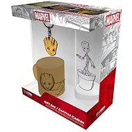 Marvel - Groot - Minibecher, Brille, Anhänger - Geschenkset
