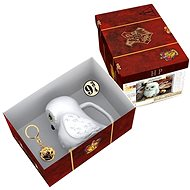 Geschenkset Harry Potter - Hedwig - 3D Becher, Anhänger, Abzeichen