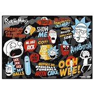 Rick And Morty - School - Mauspad - Mousepad
