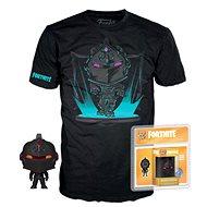 Fortnite - Black Knight -  T-shirt, M with Figurine - T-Shirt