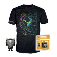 Fortnite - Omega - L shirt with Figurine - T-Shirt