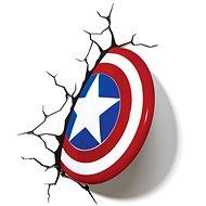 Captain America - Shield - dekorative Wandleuchte - Lampe