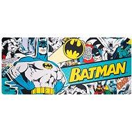 Batman - Comics Graphics - Spielfeld auf dem Tisch - Maus- und Tastatur-Unterlage