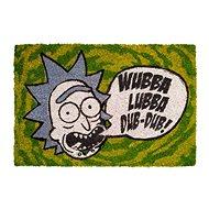 Rick and Morty - Wubba Lubba - Doormat - Doormat