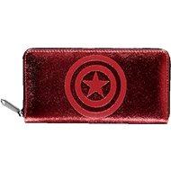 Capitain America - Logo - Geldbeutel für Damen - Portemonnaie
