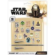 Star Wars - Mandalorian Bounty Hunter - Magnete - 18 Stück - Magnet