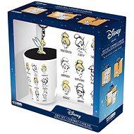 Disney Tinkerbell - Becher, Notizbuch, Anhänger - Geschenkset