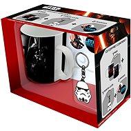 Star Wars Vader und Trooper - Becher, Anhänger und Abzeichen - Geschenkset