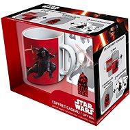 Star Wars Kylo Ren - Becher, Anhänger und Aufkleber - Geschenkset