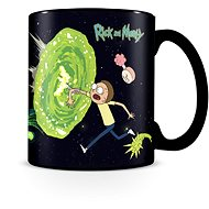 Rick and Morty - Portals - Magischer Becher - Tasse