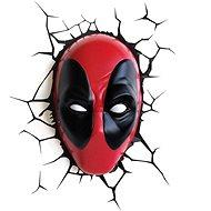Marvel - Deadpool Face - Wandleuchte - Wandlampe