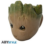 Guardians of the Galaxy - Groot - 3D Becher mit Deckel - Tasse