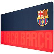 FC Barcelona - Forca Barca - Spielmatte auf dem Tisch - Maus- und Tastatur-Unterlage