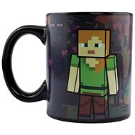 Minecraft - Enderman - Verwandelnder Becher - Tasse