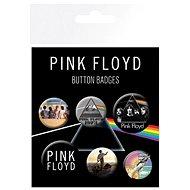 Pink Floyd - Button Badges - Abzeichen 6 Stück - Geschenkset