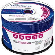 MediaRange CD-R Inkjet Printable 50 Stk Cakebox - Media