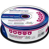 MediaRange CD-R Waterguard 25 Stk Cakebox - Media