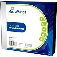 MediaRange DVD-R 5 Stk in SLIM Box - Media