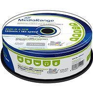 MediaRange DVD-R Waterguard Inkjet Full Printable 25 Stk Cakebox - Media