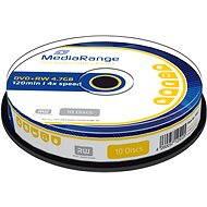 MediaRange DVD+RW 10 Stück in Cakebox - Media