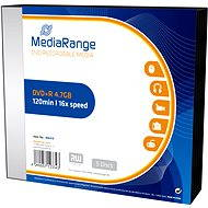 MediaRange DVD+R 5 Stk in einer SLIM-Box - Media