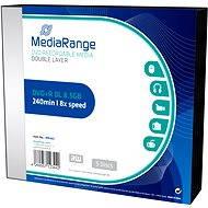Mediarange DVD+R Double Layer SLIM 5 Stück im Karton - Media
