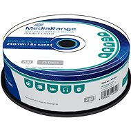 MediaRange DVD+R Dual Layer 8,5 GB, 25 Stk - Media