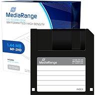 """MediaRange 3.5 """"/1.44MB, Paket 10 Stück, Kunststoff. - Diskette"""