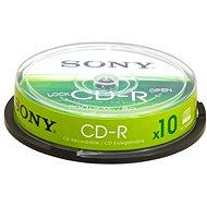 Sony CD-R 10 Stk Cakebox - Media
