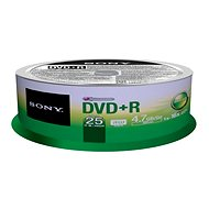 Sony Sony DVD+R 25k Stk Cakebox - Media