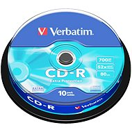 Verbatim CD-R 52x Datalife Protection, 10er Spindel - Media