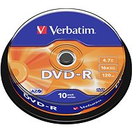 Verbatim DVD-R 16x, 10er Spindel-Box - Media