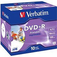 Verbatim DataLifePlus DVD+R 16x 10 Stk bedruckbar - Media