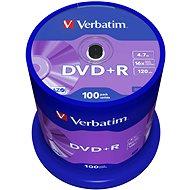 VERBATIM DVD+R AZO 4,7 GB, 16x, Spindel mit 100 Stück - Media