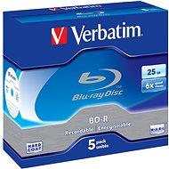 Verbatim BD-R 25 GB 6x 5 Stück im Jewel Case - Media