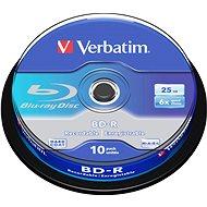 VERBATIM BD-R SL 25 GB, 6x, spindle 10 St