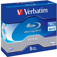Verbatim BD-R 50GB Dual Layer 6x, 5 Stück/Karton - Medium