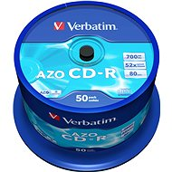 VERBATIM CD-R 80 52x CRYSTAL - 50 Stück (Spindel) - Media