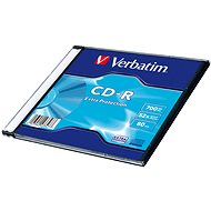 VERBATIM CD-R 80 52x EXTRA schlank 200pc / BAL - Media