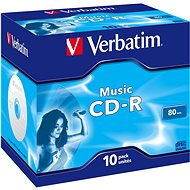 VERBATIM CD-R 80 MUSIC BOX - 10 Stück - Media