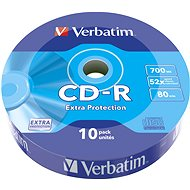 VERBATIM CD-R 80 52x SPINDEL EXTRA PROTECTION - 10 Stück - Media