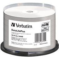 VERBATIM CD-R DLP 80min 52x WIDE Profesional Printable - 50 Stück - Media