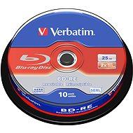 VERBATIM BD-RE SL 25 GB, 2x, Spindel 10 Stck - Media