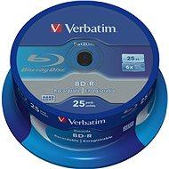 VERBATIM BD-R SL DataLife 25 GB, 6-fach, Spindel 25 St. - Media